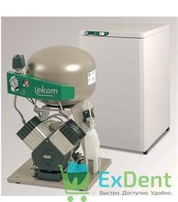 Стоматологический компрессор DK50 2V S/M - со шкафом, с мембранным осушителем