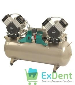 Стоматологический компрессор DK50 2x2V/110 S - с шумопоглощающим шкафом