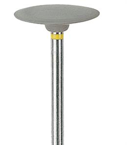 P0373 HP Полир керамики NTI CeraSupergrey, линза 15 мм, серый - мелко-абразивный