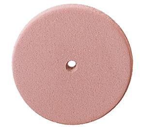 P0306 Полир керамики NTI, диск 22 мм, розовый - средне-абразивный