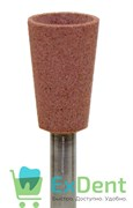 Полир (головка резиновая) P1935 RA, розовый, чаша - для предварительного полирования композитов