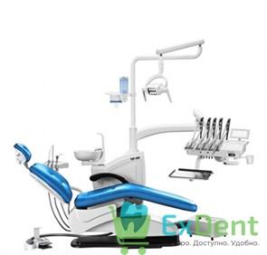 Стоматологическая установка TOP-308 верхняя подача со стулом врача