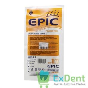 Перчатки Epic (8,5 - L) - хирургические стерильные латексные неопудренные (1 пара)