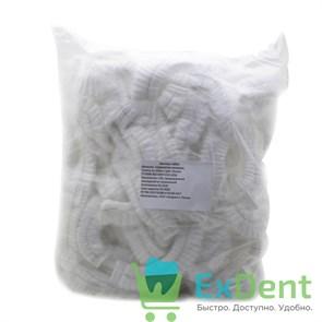 Шапочки - шарлотки медицинские, белые, любой производитель (100 шт.)