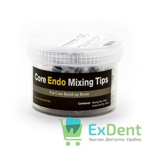 Канюли Endo Mixing Tips - интраоральные белые насадки-канюлиl (50 шт)