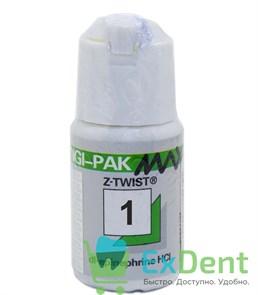 Нить ретракционная №1, Gingi-Pak Max зеленая (с эпинифрином), (2,74 м)