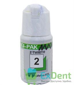 Нить ретракционная №2, Gingi-Pak Max зеленая (с эпинифрином), (2,74 м)