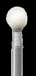 Головка керамическая NTI Арканзас, шаровидный, FG - для финирования композитов