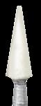 Головка керамическая NTI Арканзас, конус остроконечный, RA - для финирования композитов