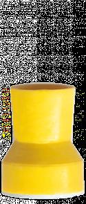 P1253 Полир (головка силиконовая) Snap-on, желтая, средняя чаша NTI