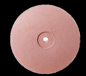 P0316 Полир керамики NTI, диск острый 22 мм, розовый - средне-абразивный