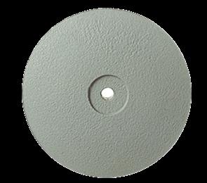 P0322 HP Полир керамики NTI CeraSupergrey, диск острый 22 мм, серый - мелко-абразивный