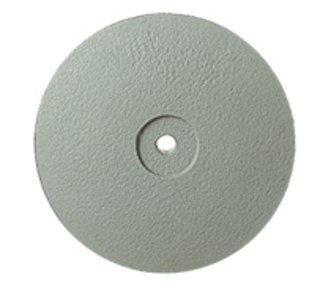 P0322 Полир керамики NTI, диск острый 22 мм, серый - мелко-абразивный