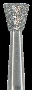 805-023M-HP Бор алмазный NTI, форма обратный конус, среднее зерно