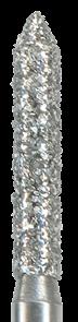 885-014C-FG Бор алмазный NTI, форма цилиндр, остроконечный, грубое зерно