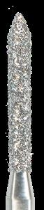 885-012M-FG Бор алмазный NTI, форма цилиндр, остроконечный, среднее зерно