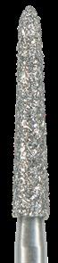 879K-018F-FG Бор алмазный NTI, форма торпеда, коническая, мелкое зерно