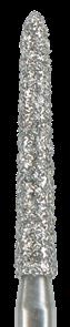 879K-016F-FG Бор алмазный NTI, форма торпеда, коническая, мелкое зерно