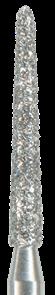 879K-014F-FG Бор алмазный NTI, форма торпеда, коническая, мелкое зерно