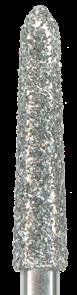 879K-021C-FG Бор алмазный NTI, форма торпеда,коническая, грубое зерно