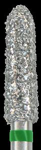 878K-023C-FG Бор алмазный NTI, форма торпеда, коническая, грубое зерно