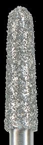 878K-021F-FG Бор алмазный NTI, форма торпеда,коническая, мелкое зерно