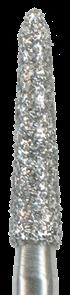878K-018F-FG Бор алмазный NTI, форма торпеда,коническая, мелкое зерно