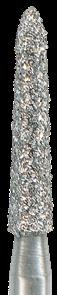 878K-016M-FG Бор алмазный NTI, форма торпеда,коническая, среднее зерно