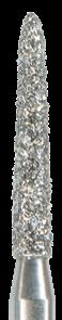 878K-014F-FG Бор алмазный NTI, форма торпеда,коническая, мелкое зерно