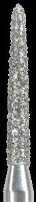 878K-012M-FG Бор алмазный NTI, форма торпеда,коническая, среднее зерно