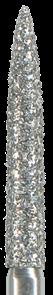 863L-016C-FG Бор алмазный NTI, форма пламевидная,длинная, грубое зерно