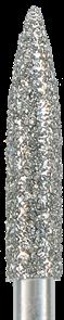 863-021M-FG Бор алмазный NTI, форма пламевидная, среднее зерно