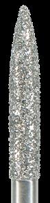 863-018F-FG Бор алмазный NTI, форма пламевидная, мелкое зерно