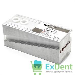 Подставка для эндодонтических инструментов Endo Meter квадратная на 32 инструмента