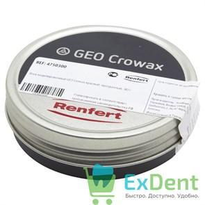 Воск GEO Crowax (Кровакс) красный прозрачный (80 г)