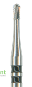 H34-010-FG Бор твердосплавный NTI, стандартный хвостик, форма цилиндр, круглый