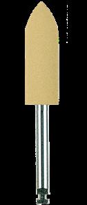 Полир (головка резиновая) P0731RA, пуля - для любых микрофильных композитов