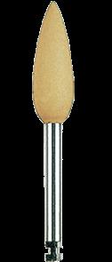 Полир (головка резиновая) P0730 RA, пуля - для любых микрофильных композитов