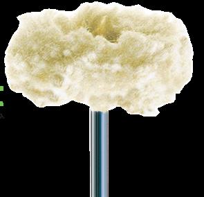 Диск полировочный хлопчатобумажный  Cotton buff NTI P1269 HP