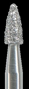 390-016M-HP Бор алмазный NTI, форма гренада, среднее зерно