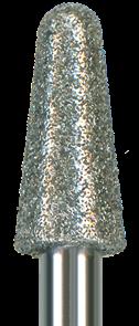850-040M-HP Бор алмазный NTI, форма конус круглый, среднее зерно