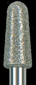 854R-040M-HP Бор алмазный NTI, форма конус круглый, среднее зерно