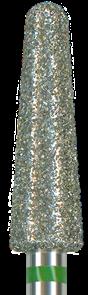 856-040C-HP Бор алмазный NTI, форма конус, закругленный, грубое зерно