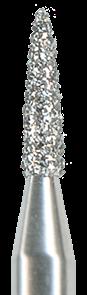 860-010M-HP Бор алмазный NTI, форма пламевидная, среднее зерно