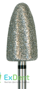 860-085SC-HP Бор алмазный NTI, конус,пламевидная,сверхгрубое зерно