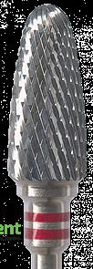 Фреза твердосплавная HF251LE-060 с крестообразной насечкой NTI