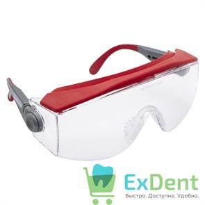 Очки защитные, прозрачные с регулируемыми дужками Monoart