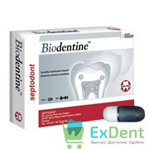 Biodentine (Биодентин) - биоактивный заменитель дентина (15+15 капсул)