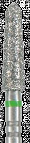 878KSE-022F-FG Бор алмазный NTI, форма торпеда, коническая, мелкое зерно