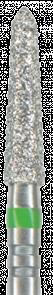 878KSE-019F-FG Бор алмазный NTI, форма торпеда, коническая, мелкое зерно